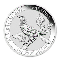 Silver coin Australian Bird of Paradise 1 oz (2019)