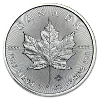 Silver coin Canadian Maple Leaf 1 oz (2016)