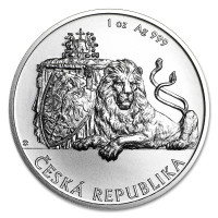 Silver coin Czech Lion 1 oz (2018)