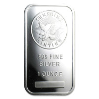 Silver ingot Sunshine Mint 1 oz