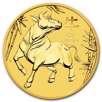 Gold coin Year of the Ox 1 oz (2021)